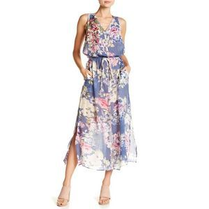 Aratta Walk of Fame Floral Maxi Dress Size Medium